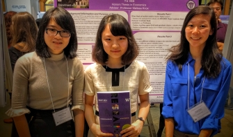 ECON Students at the Undergraduate Research Symposium