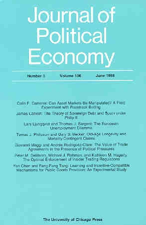economic research journal articles Journal of economics and management (jem) is a peer-refereed, international,   important subjects and to provide a stimulus for research and further  development of science all articles of the journal are licensed under a creative  commons.
