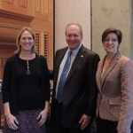 Alison and Glen Milliman with Dr. Susan Athey