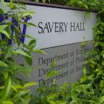 savery hall sign