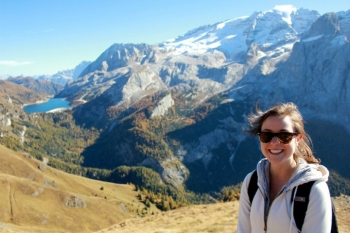 Amazing scenery in Bolzano!