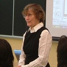 Professor Judith Thornton, 2007