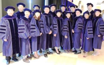 PhD Graduates 2015