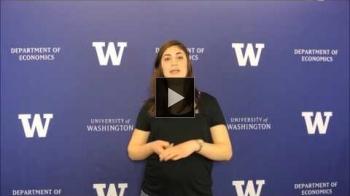 YouTube link to UW Women in Economics: Reem Sabha